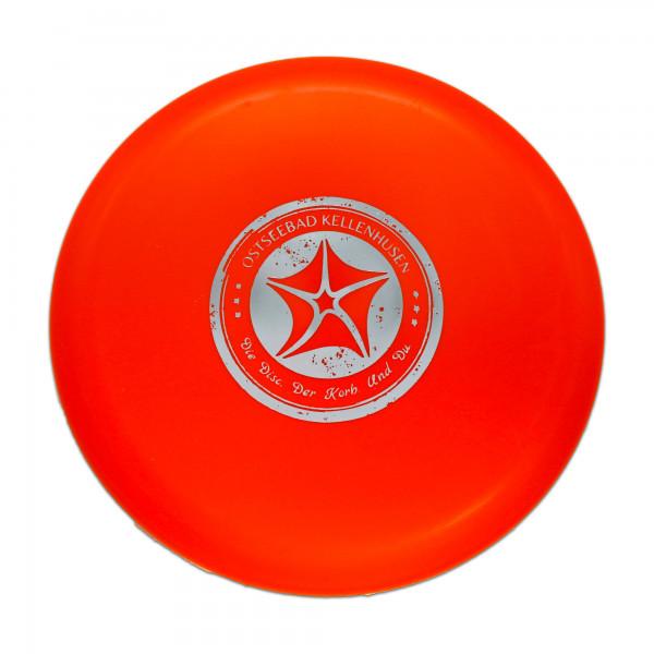 Discgolf Scheibe- orange