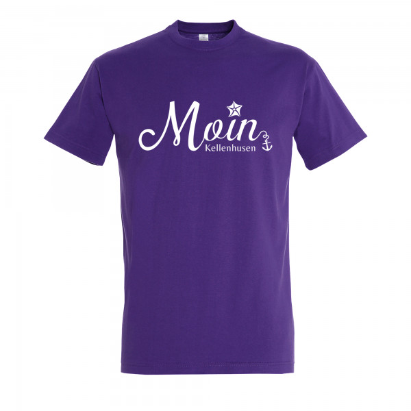 "T-Shirt ""Moin Kellenhusen"" - lila"
