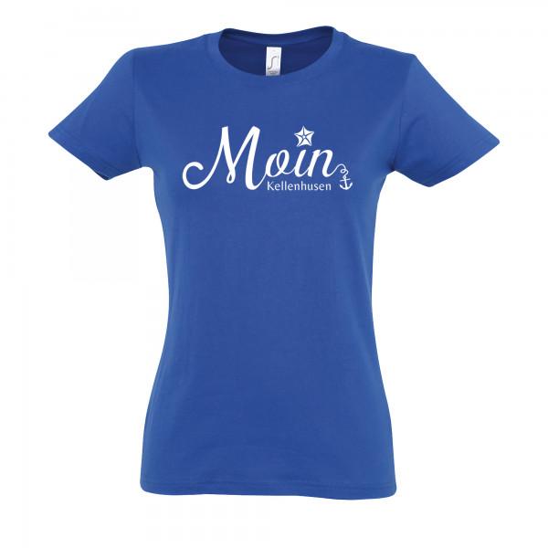 """T-Shirt """"Moin Kellenhusen"""" - dunkelblau"""