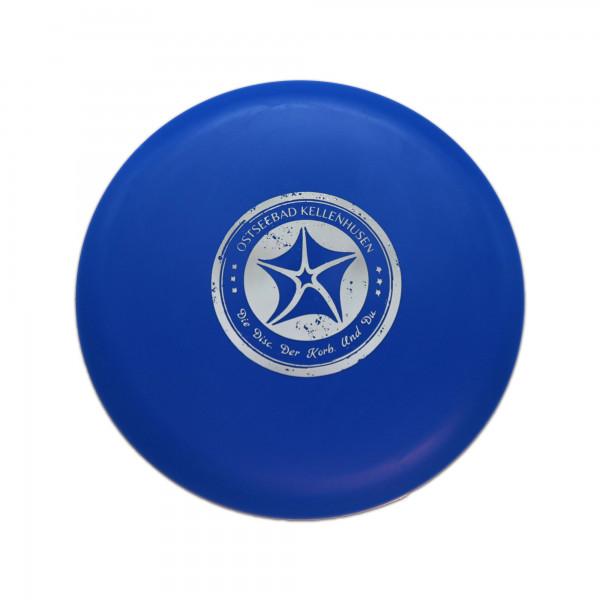 Discgolf Scheibe- blau