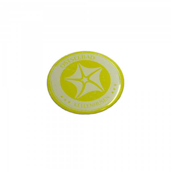 Kühlschrank Magnet - gelb